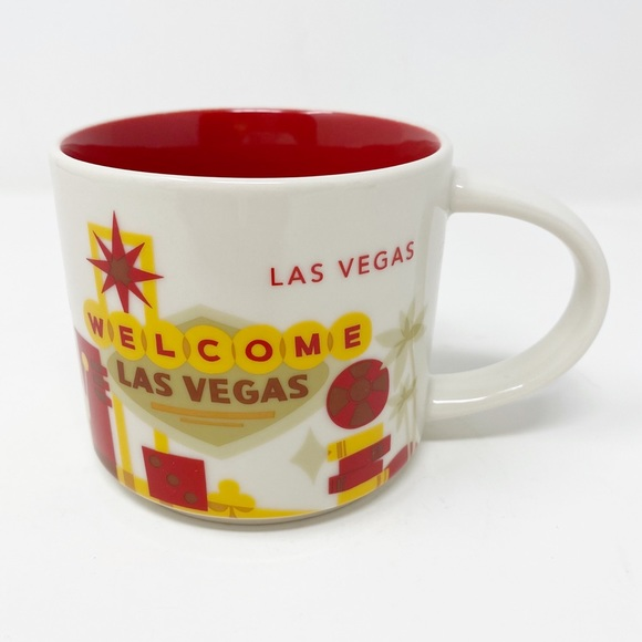 STARBUCKS You Are Here Collection ~ Las Vegas